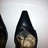 Schuhe der Kollegin besamt - Teil 7