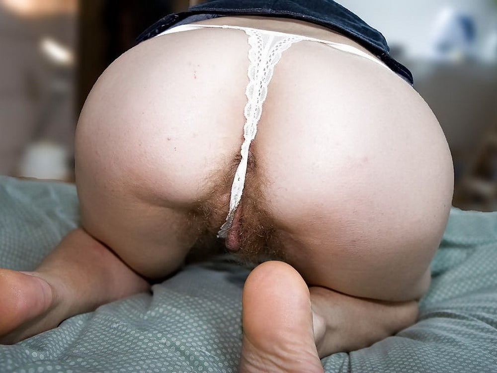 Hot Mature Lorna Blu Flashes Her Fatty Ass And Pussy In Sheer Underwear