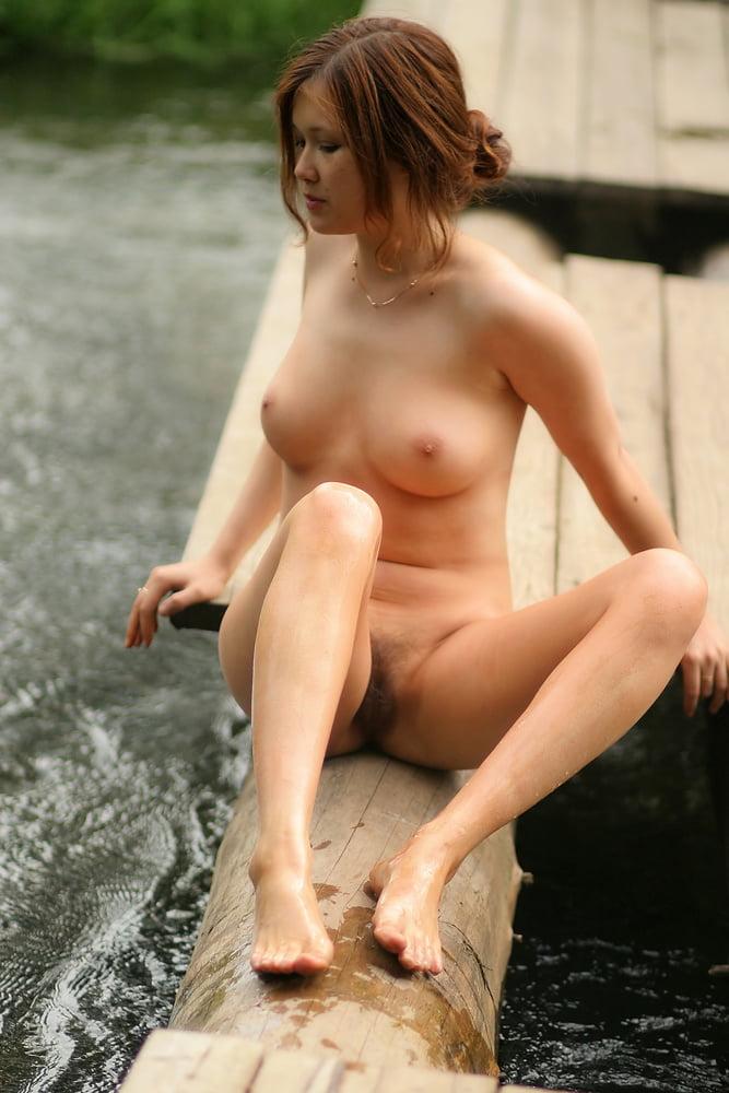 Sexy Skinny Redhead Teen Naked