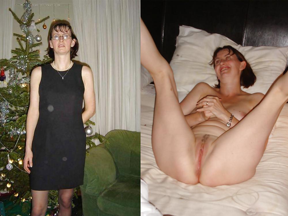 Polaroid wives posing naked