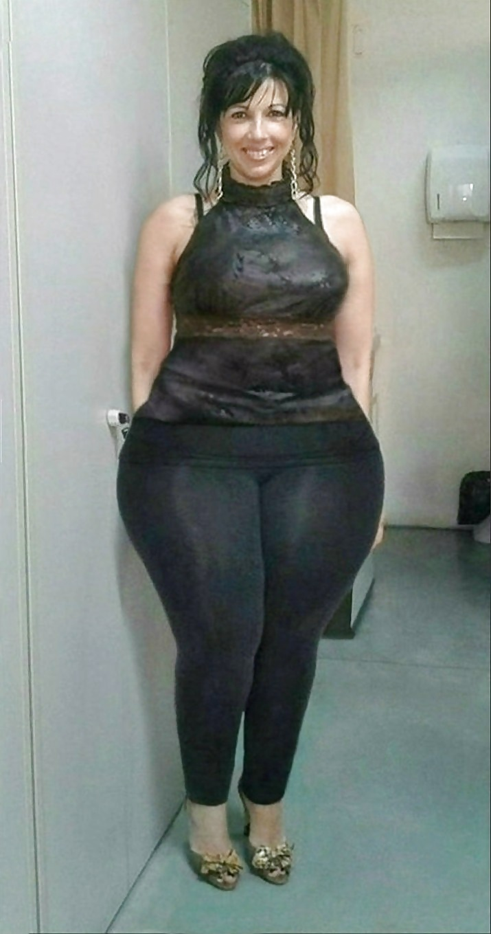 Wide hips thick thighs big ass mature
