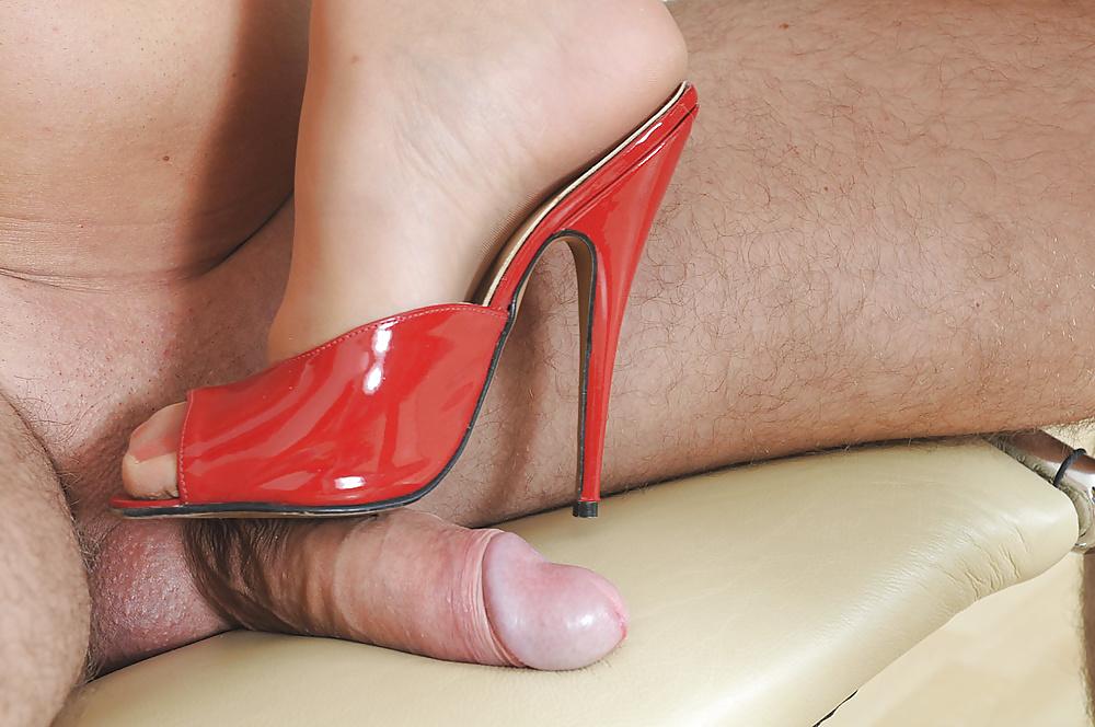 Office High Heels Shoejob Footjob