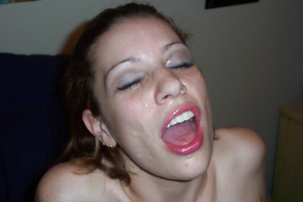 полный рот спермы у сары джеймс - 4