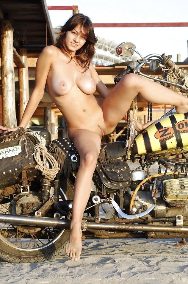 motorcycles on Bikini models