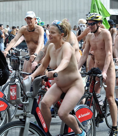 Very pregnant nude on bike consider, that