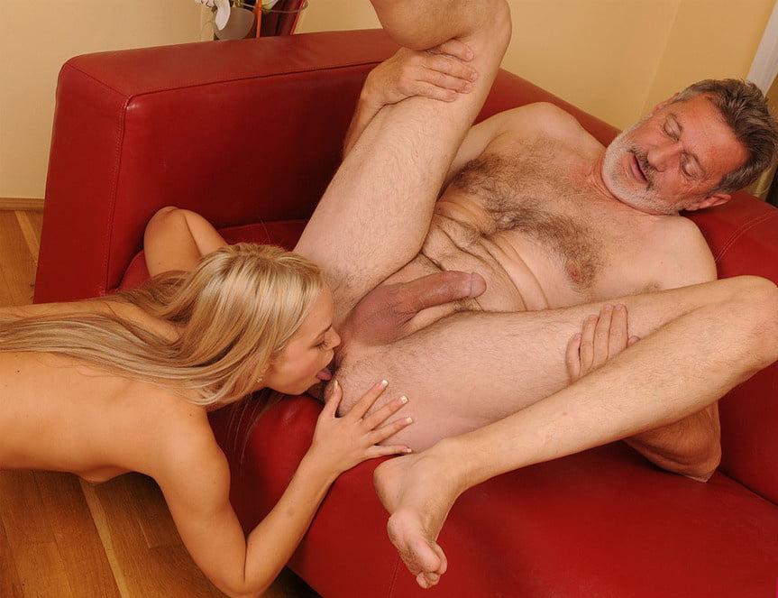 любовный секс девушки и старика - 4