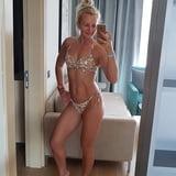 Hot amateur mature mom Anja in bikini and underwaer