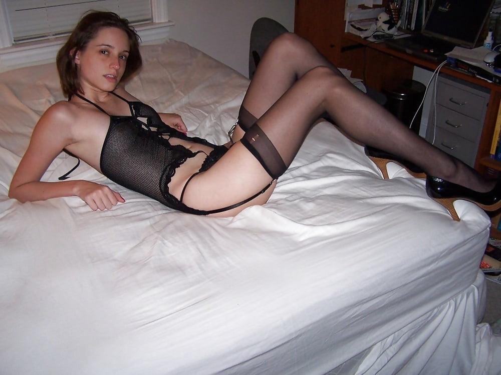 Hot Dark Haired Ex Gf Lynn Positions Naked