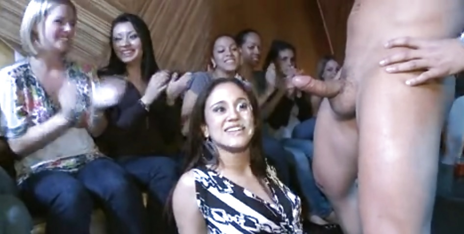 Naughty cfnm sluts in hot leather-7190