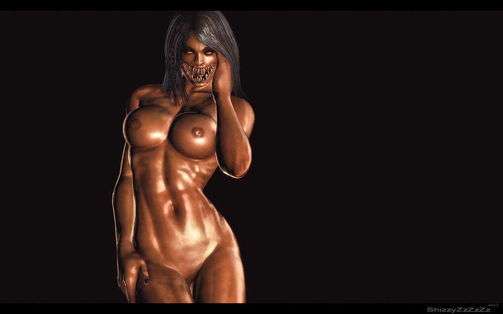 Sexy mortal kombat girls naked — photo 5