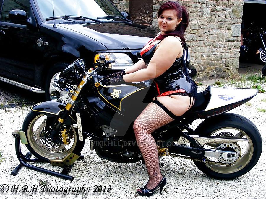 Bbw biker chicks — photo 6