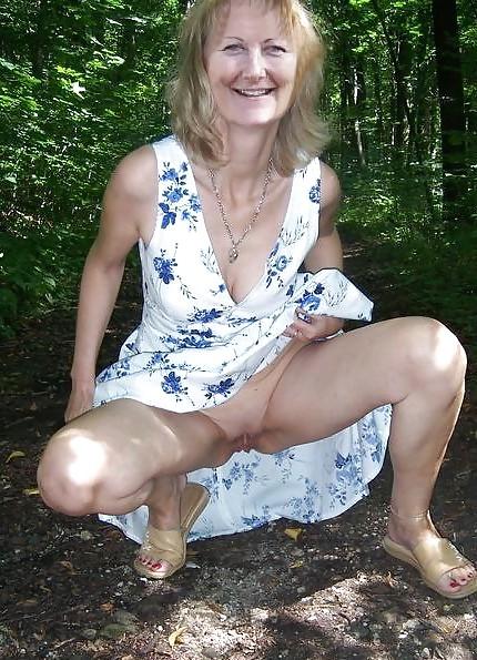 Mature women upskirt-9200