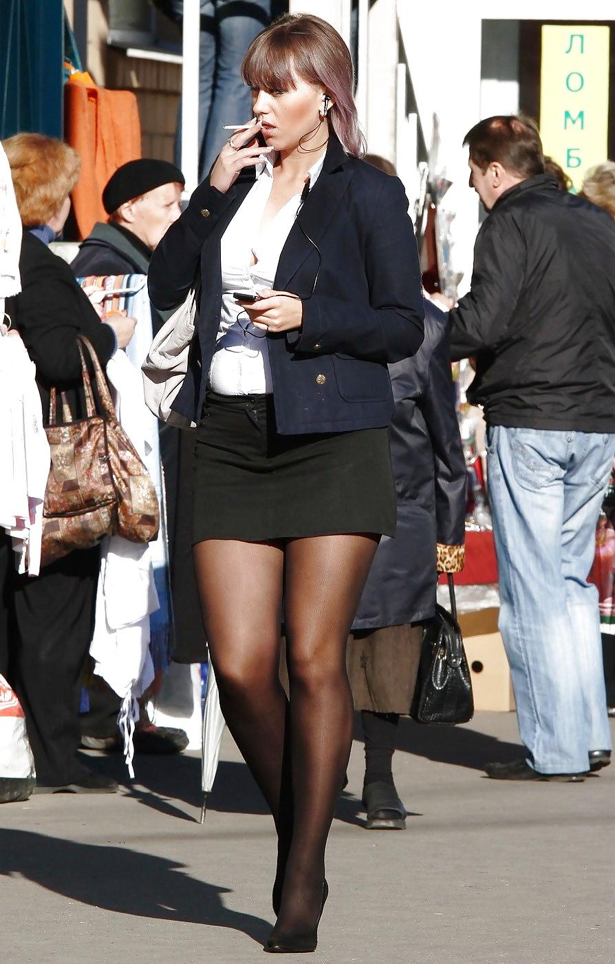 pantyhose-women-walking-shiny-satin-panties-pinterest