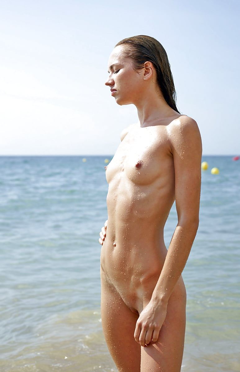 Skinny spanish chick nude #7