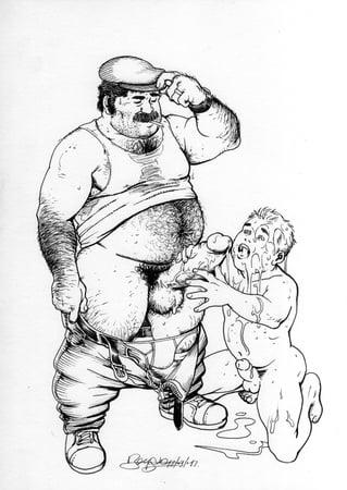 gay Bara drawing