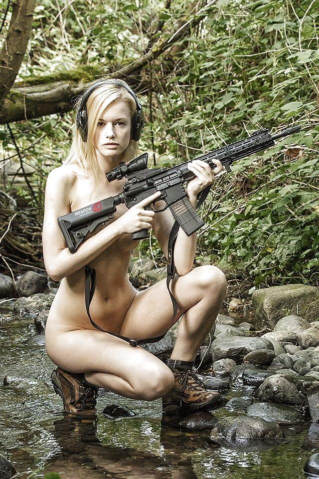 Nude Russian Girls With Guns