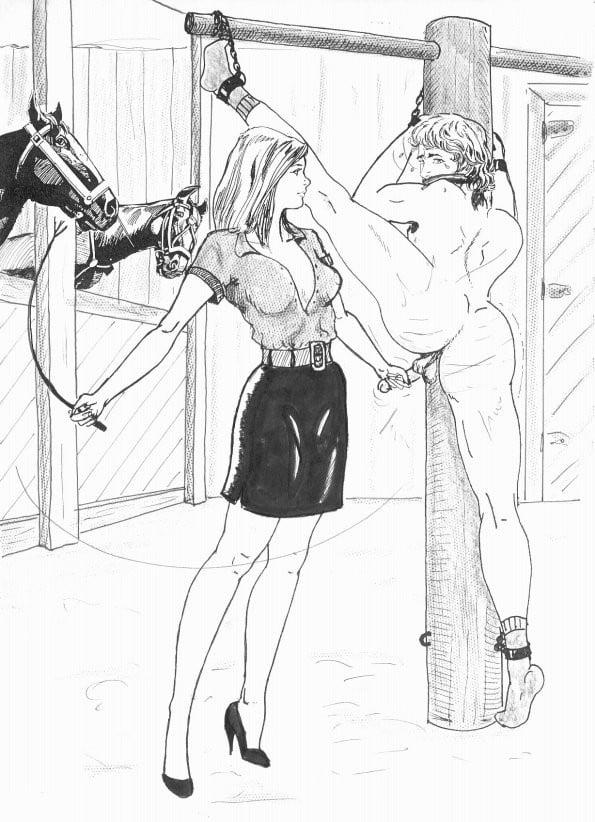 Black femdom bondage