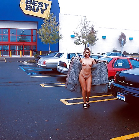 Ease lubricant naked parking lot