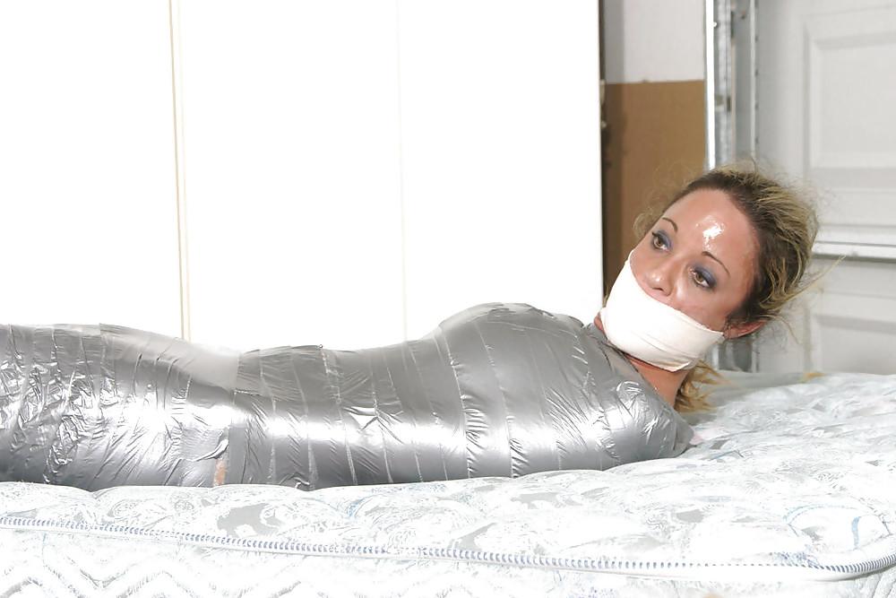 Mummification bdsm fetish porn images