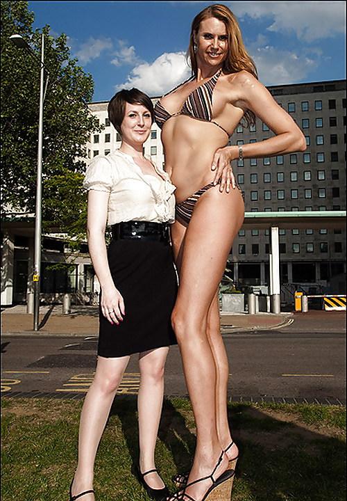 Super Tall Girl Compare