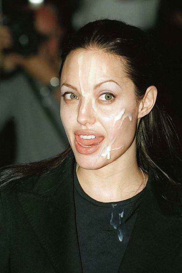 Angelina jolie fake cum 15