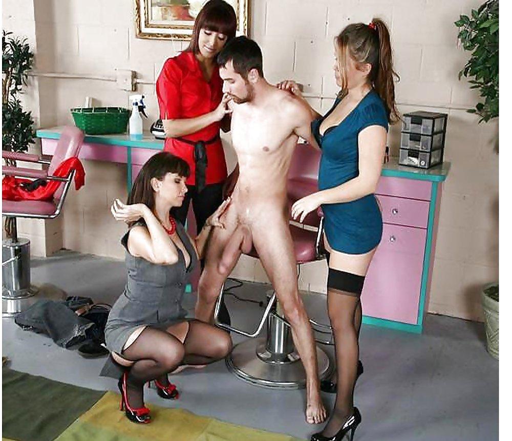 Cfnm BBW femdom porn pics
