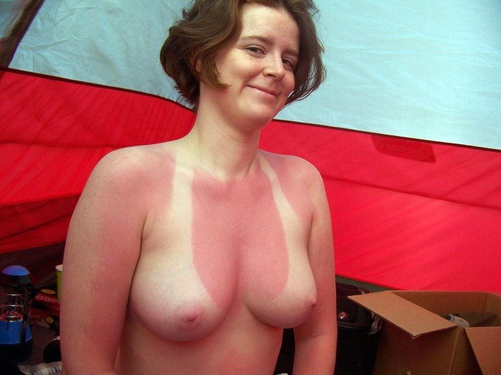 Home porn sunburned milf