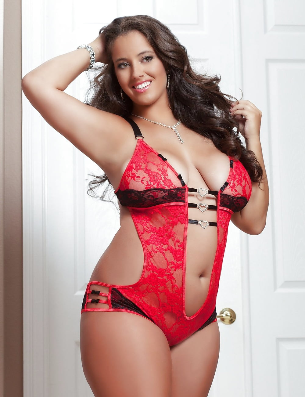 Women sexy plus size panties high waist bandage lace mesh underwear