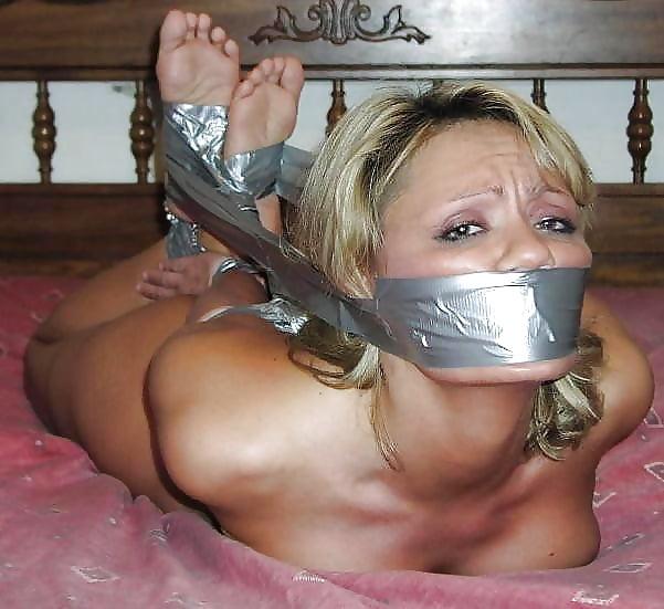 Bondage + duct tape