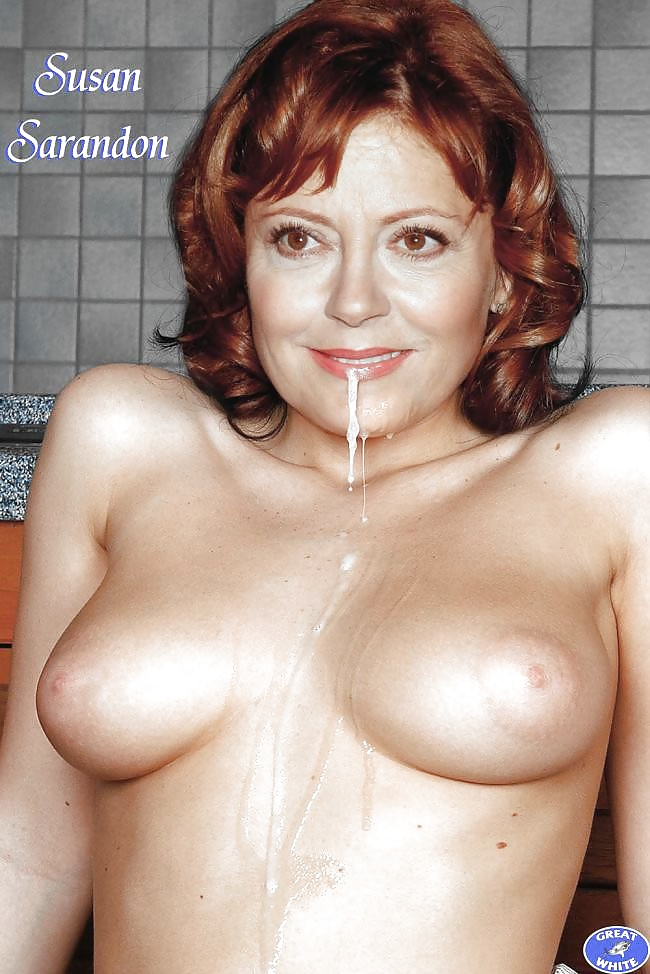 Susan Sarandon Nude Fake