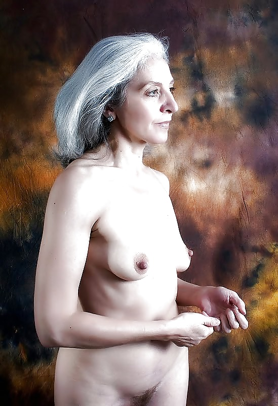 Grey haired naked women