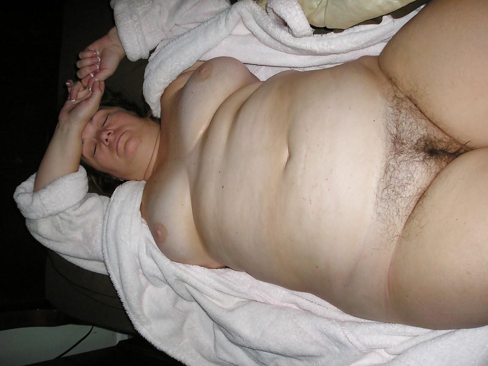 Husband wife anal chubby