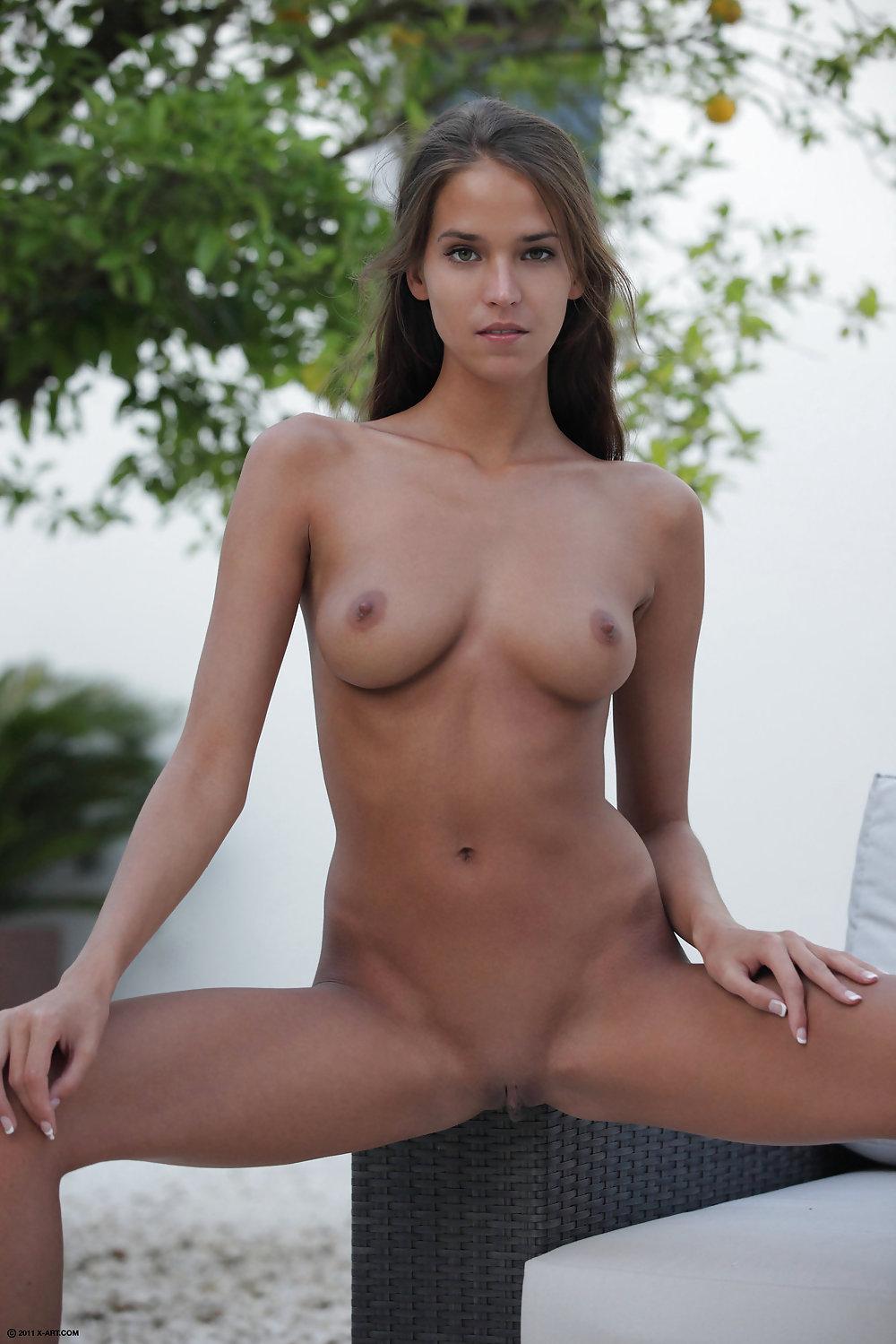 Naked tan boobs-4501