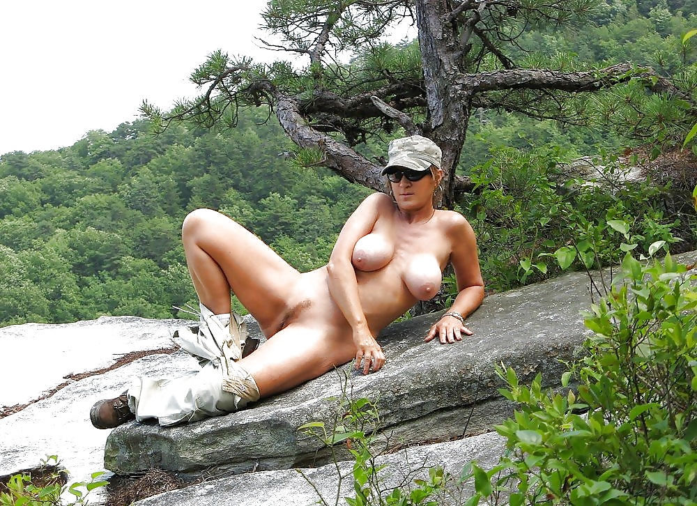 A Nude Waterfall Photoshoot
