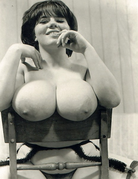 Hot Busty Retro Babe With Big Tits Fucks