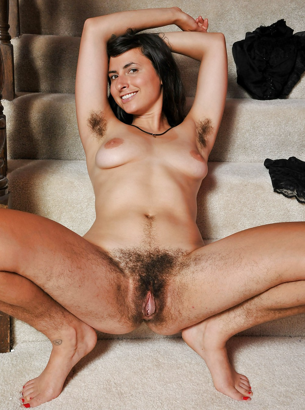 Matchless old mature hairy granny