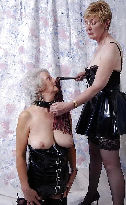 Mean granny femdom