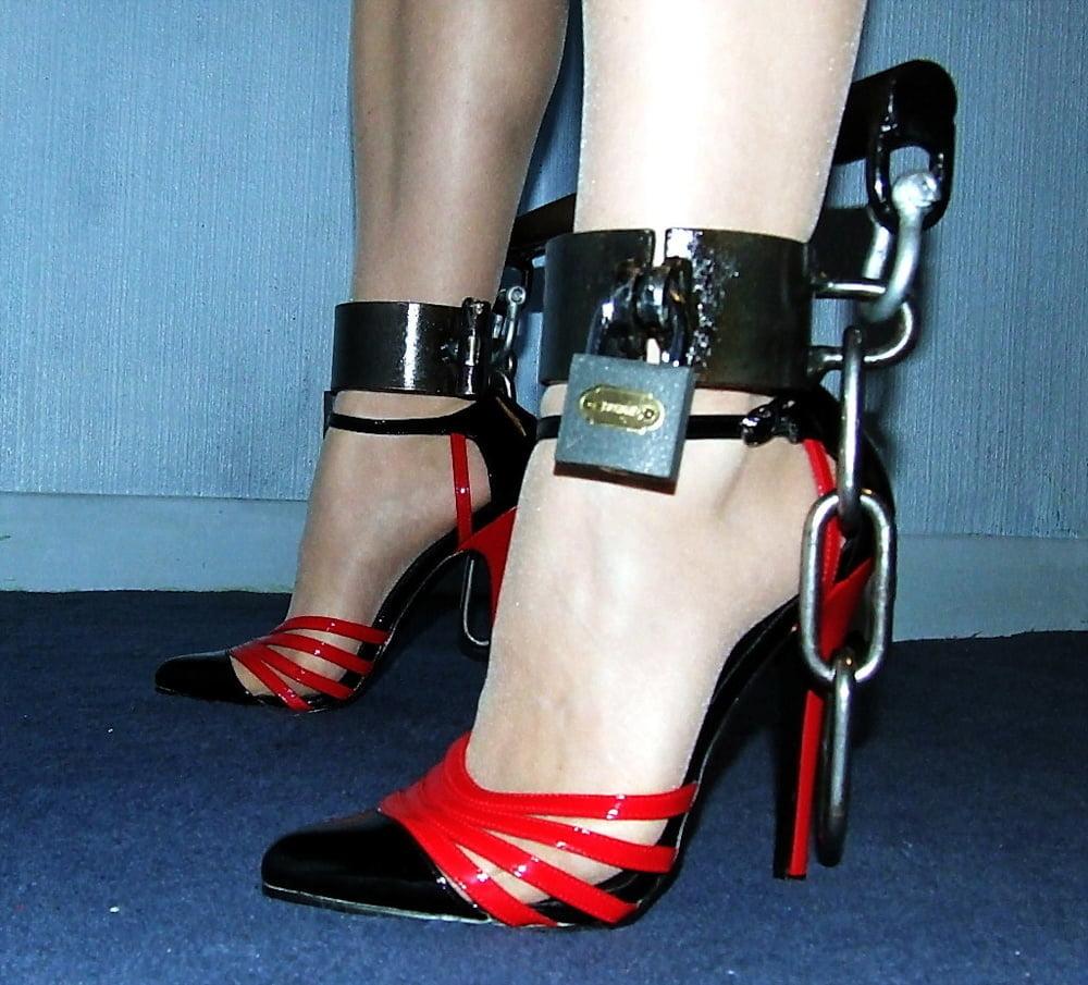 High heeled bondage videos