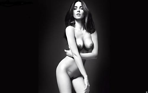 Megan fox sexy nude wallpaper