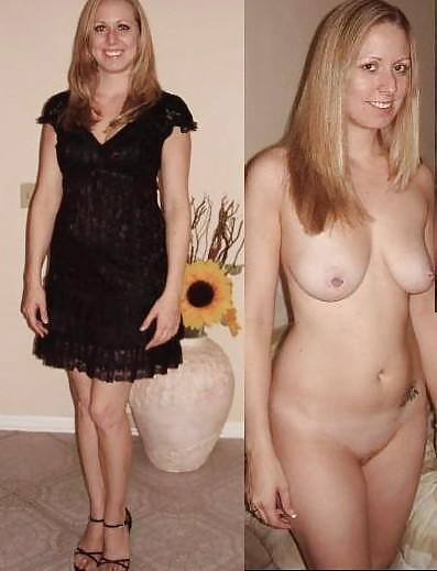 Something is. Amateur milf wife dressed undressed something is