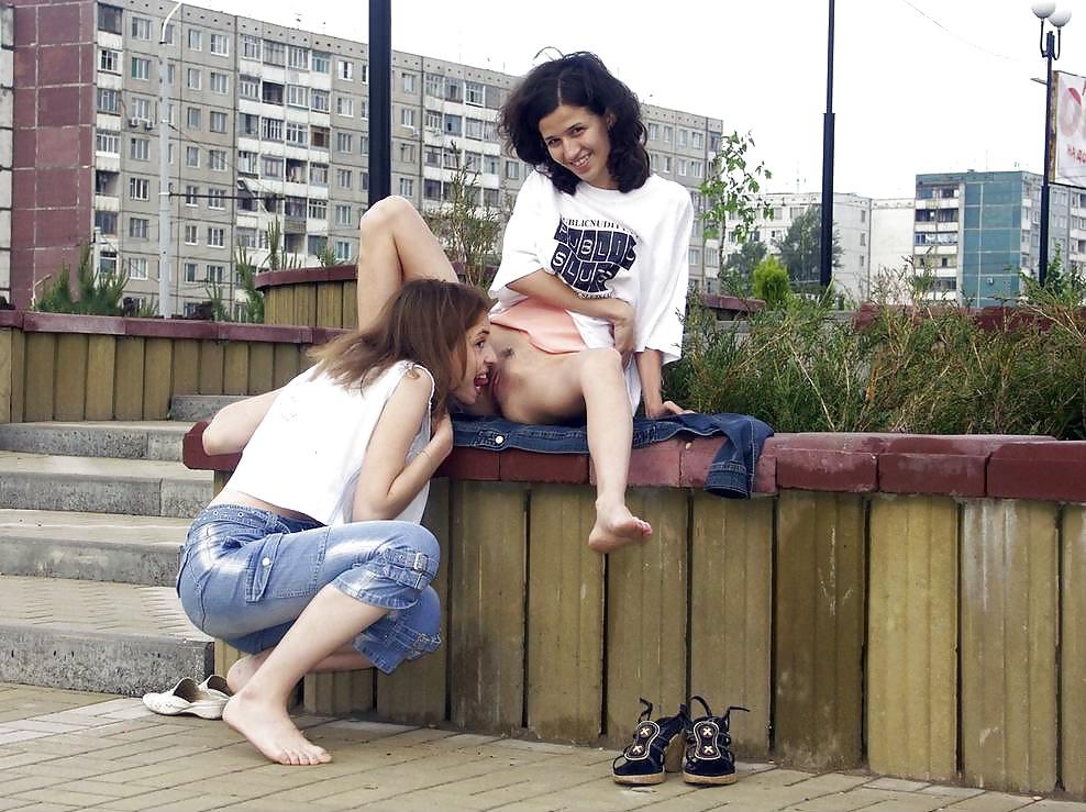 Кунилингус в общественных местах видео — photo 10