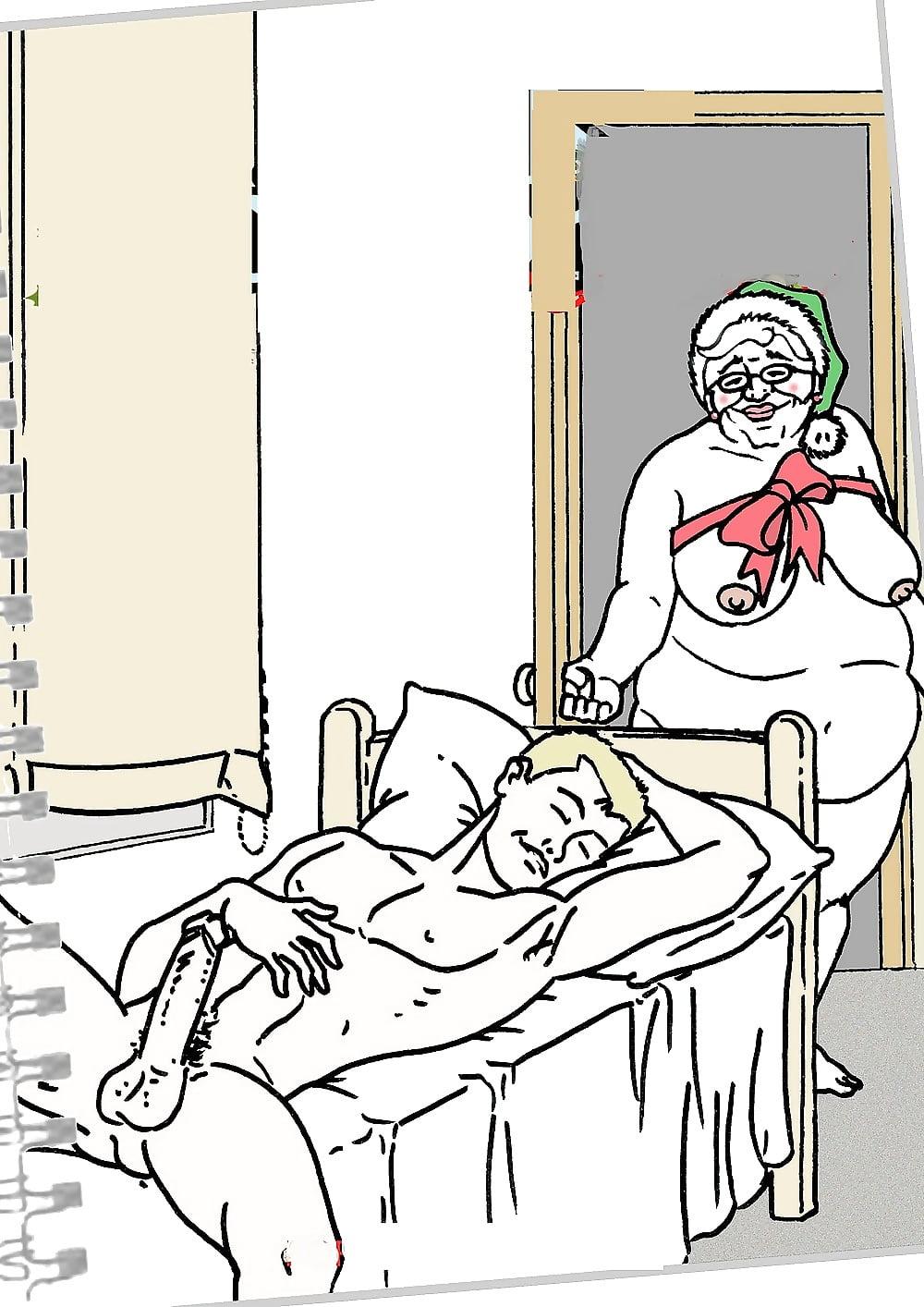 Granny Lovers Dream - 28 Pics  Xhamster-2214