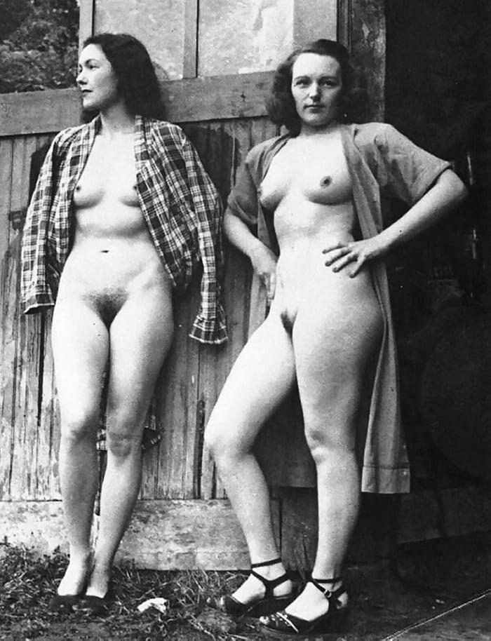 эротическое довоенное фото женщин - 6