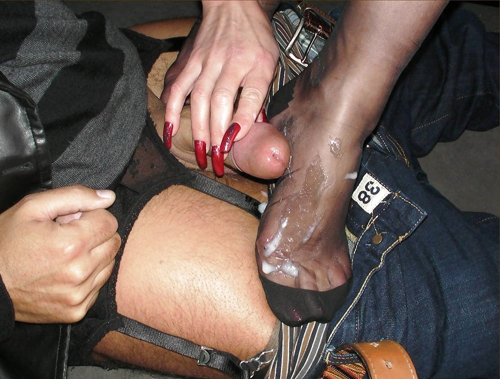 Pantyhose handjob free xxx galeries