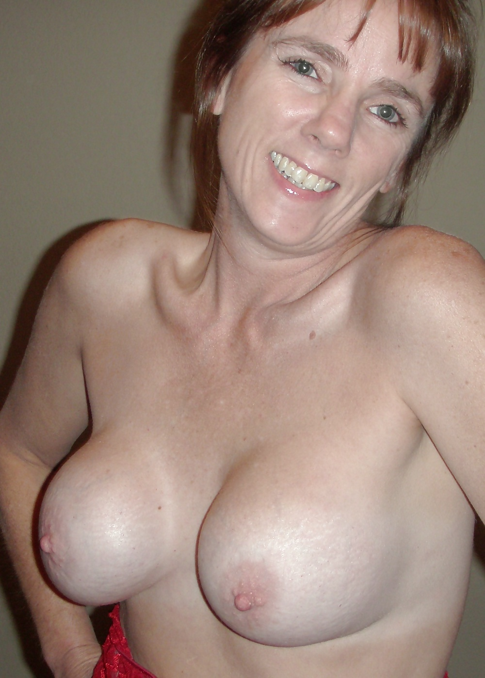 Freckle Chested Cougar Sex