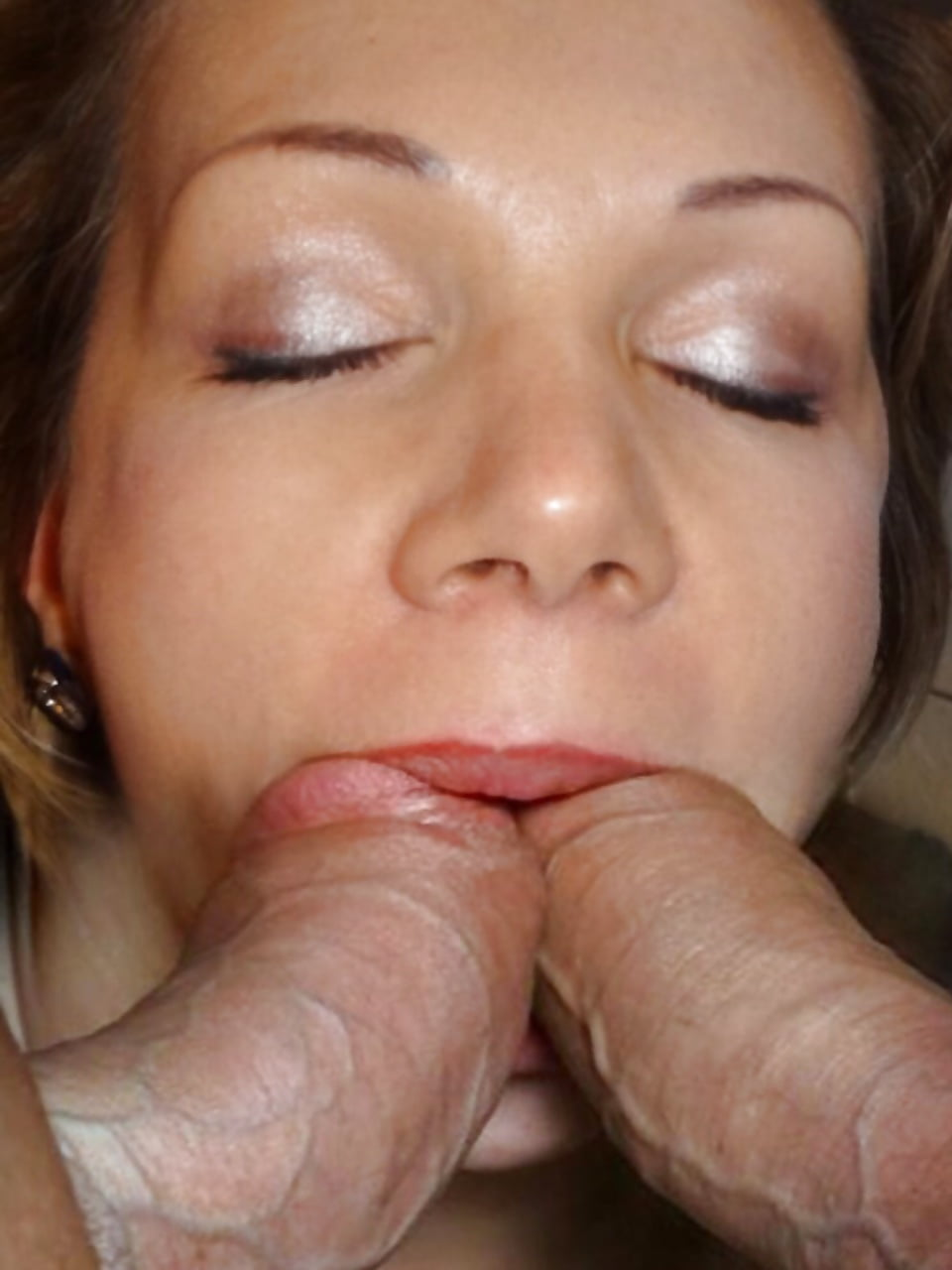 Amateur Busty Blowjob Wife