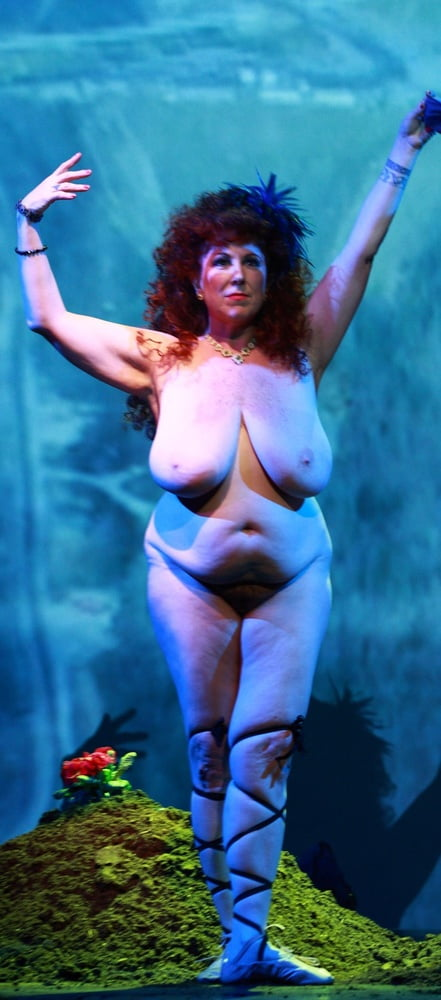 Annie Sprinkle  nackt