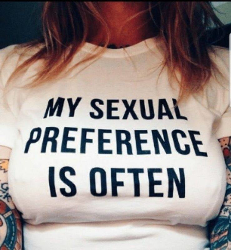 My sexual preferences