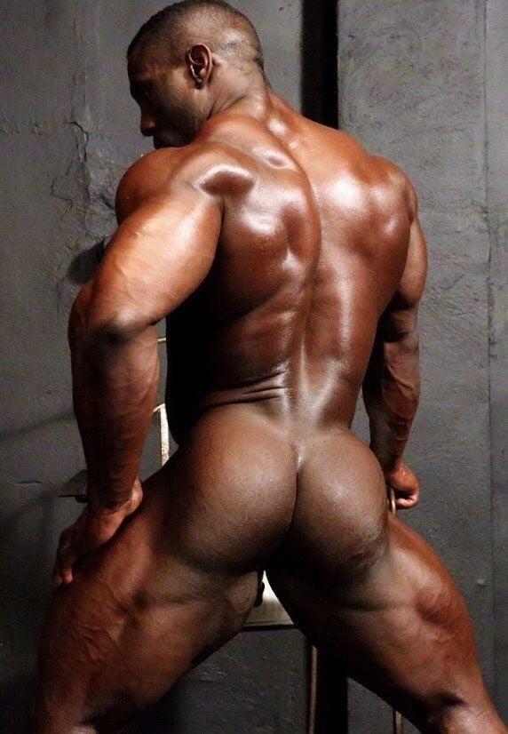 Buff Hairy Naked Black Men