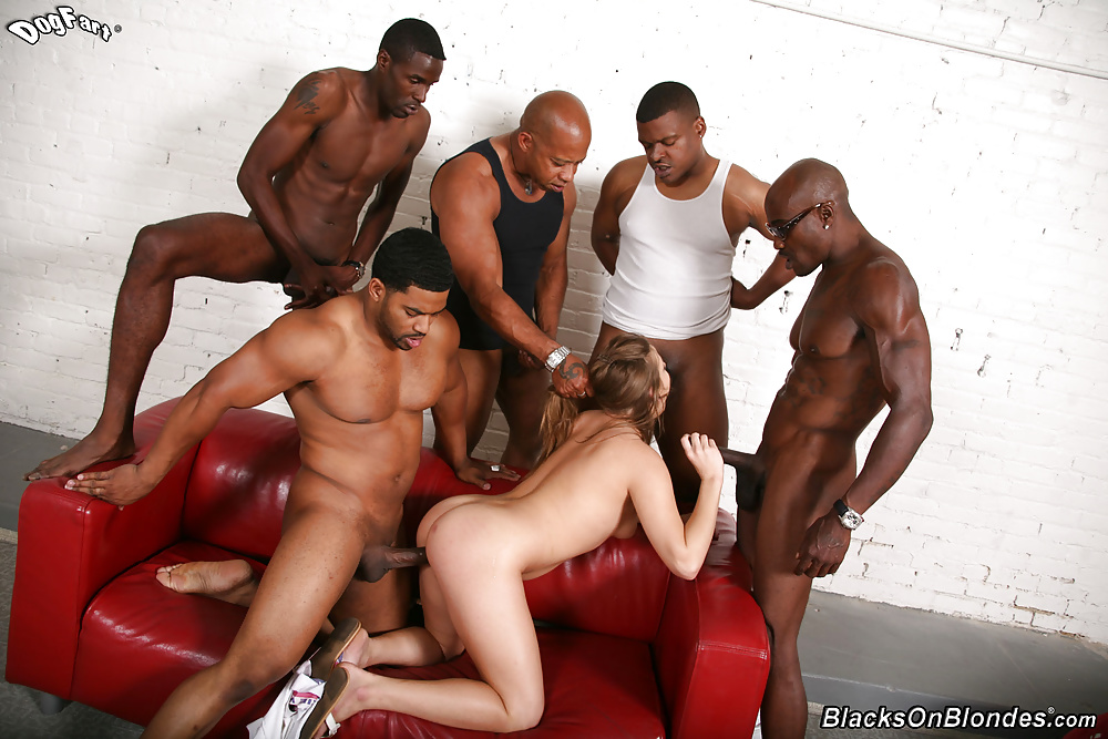Humiliated White Wife Black Gangbang